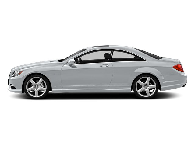 designo Magno Alanite Grey Matte 2013 Mercedes-Benz CL-Class Pictures CL-Class Coupe 2D CL600 photos side view
