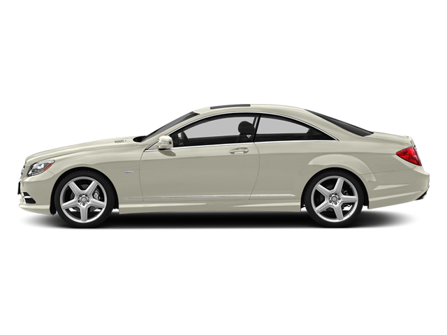 designo Magno Cashmere White Matte 2013 Mercedes-Benz CL-Class Pictures CL-Class Coupe 2D CL63 AMG photos side view