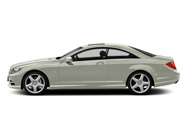 Iridium Silver Metallic 2013 Mercedes-Benz CL-Class Pictures CL-Class Coupe 2D CL600 photos side view