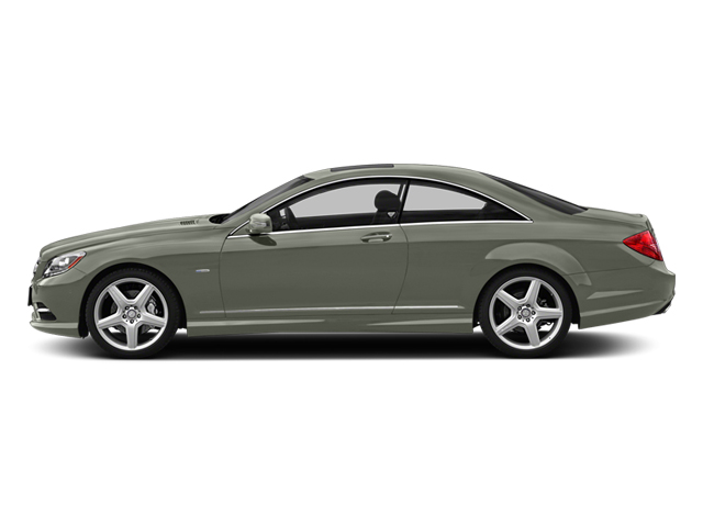 Palladium Silver 2013 Mercedes-Benz CL-Class Pictures CL-Class Coupe 2D CL600 photos side view