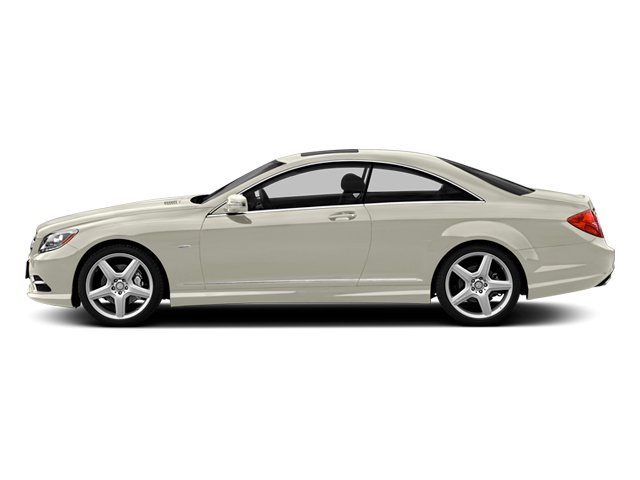 Diamond White Metallic 2013 Mercedes-Benz CL-Class Pictures CL-Class Coupe 2D CL63 AMG photos side view