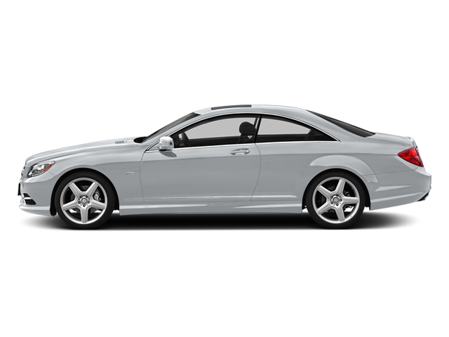 Diamond Silver 2013 Mercedes-Benz CL-Class Pictures CL-Class Coupe 2D CL63 AMG photos side view