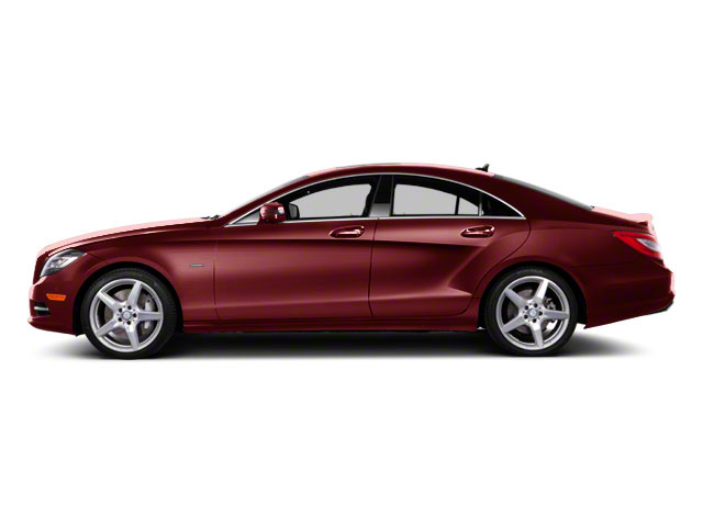 Storm Red Metallic 2013 Mercedes-Benz CLS-Class Pictures CLS-Class Sedan 4D CLS550 AWD photos side view