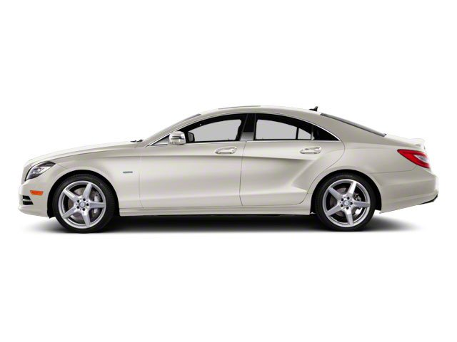 Diamond White Metallic 2013 Mercedes-Benz CLS-Class Pictures CLS-Class Sedan 4D CLS550 AWD photos side view