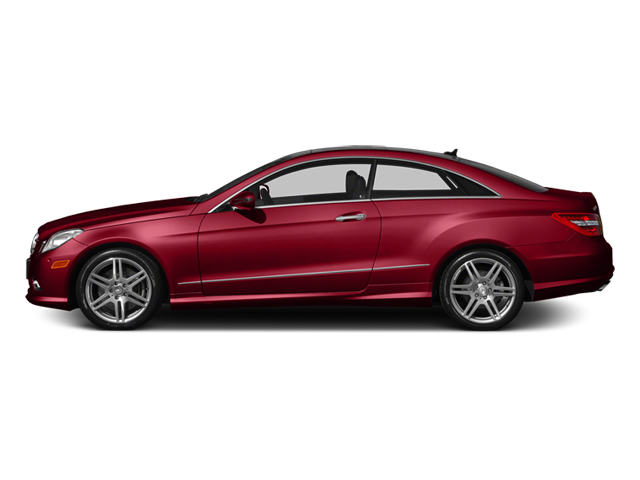 Mars Red 2013 Mercedes-Benz E-Class Pictures E-Class Coupe 2D E550 photos side view