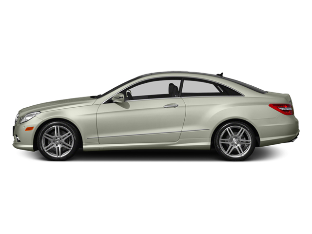 Iridium Silver Metallic 2013 Mercedes-Benz E-Class Pictures E-Class Coupe 2D E550 photos side view