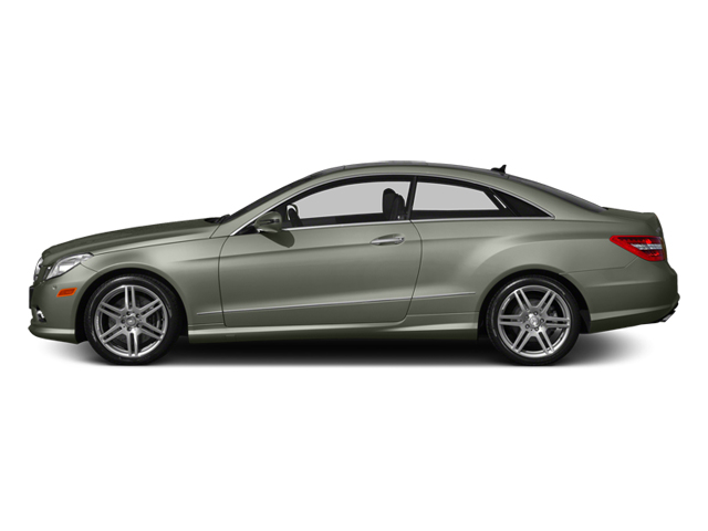 Palladium Silver Metallic 2013 Mercedes-Benz E-Class Pictures E-Class Coupe 2D E550 photos side view