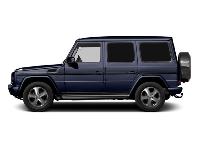 designo Mystic Blue Metallic 2013 Mercedes-Benz G-Class Pictures G-Class 4 Door Utility 4Matic photos side view