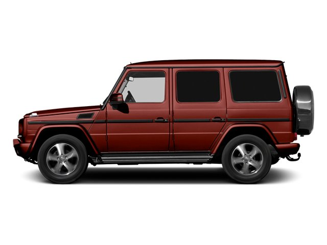 Storm Red 2013 Mercedes-Benz G-Class Pictures G-Class 4 Door Utility 4Matic photos side view