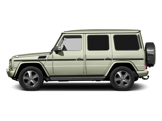 Arctic White 2013 Mercedes-Benz G-Class Pictures G-Class 4 Door Utility 4Matic photos side view