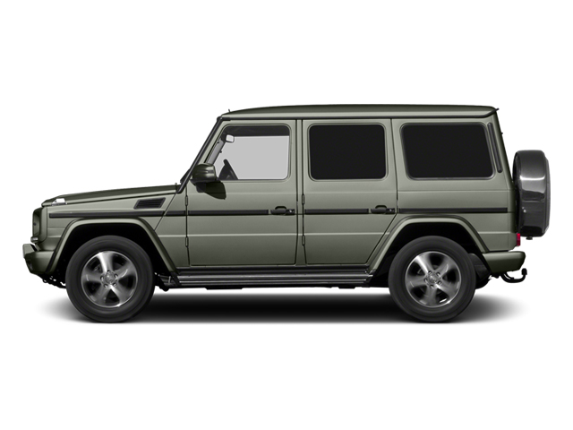 Palladium Silver Metallic 2013 Mercedes-Benz G-Class Pictures G-Class 4 Door Utility 4Matic photos side view