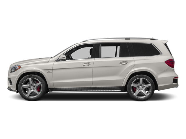 Arctic White 2013 Mercedes-Benz GL-Class Pictures GL-Class Utility 4D GL63 AMG 4WD photos side view