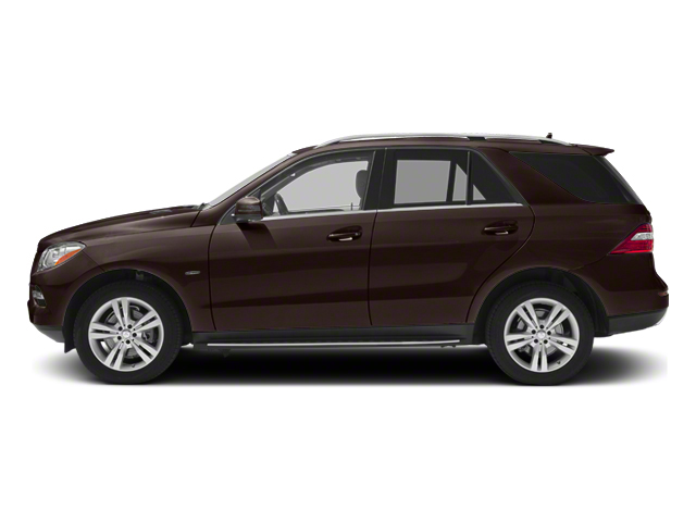 Dakota Brown Metallic 2013 Mercedes-Benz M-Class Pictures M-Class Utility 4D ML350 BlueTEC AWD photos side view