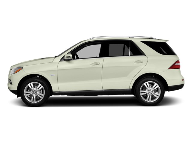 Arctic White 2013 Mercedes-Benz M-Class Pictures M-Class Utility 4D ML350 2WD photos side view