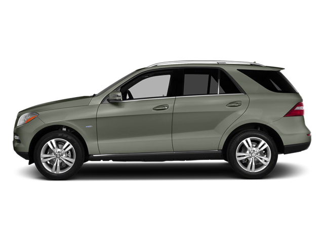 Palladium Silver Metallic 2013 Mercedes-Benz M-Class Pictures M-Class Utility 4D ML350 2WD photos side view
