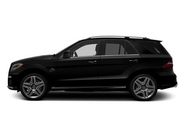 Obsidian Black Metallic 2013 Mercedes-Benz M-Class Pictures M-Class Utility 4D ML63 AMG AWD photos side view