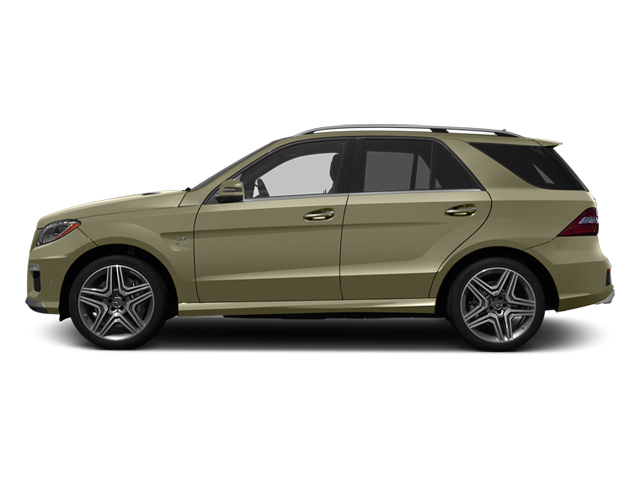 Pearl Beige Metallic 2013 Mercedes-Benz M-Class Pictures M-Class Utility 4D ML63 AMG AWD photos side view