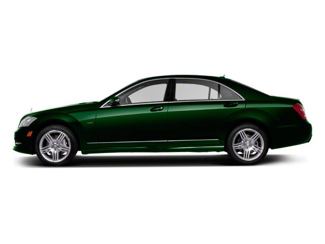 Jade Green Metallic 2013 Mercedes-Benz S-Class Pictures S-Class Sedan 4D S400 Hybrid photos side view