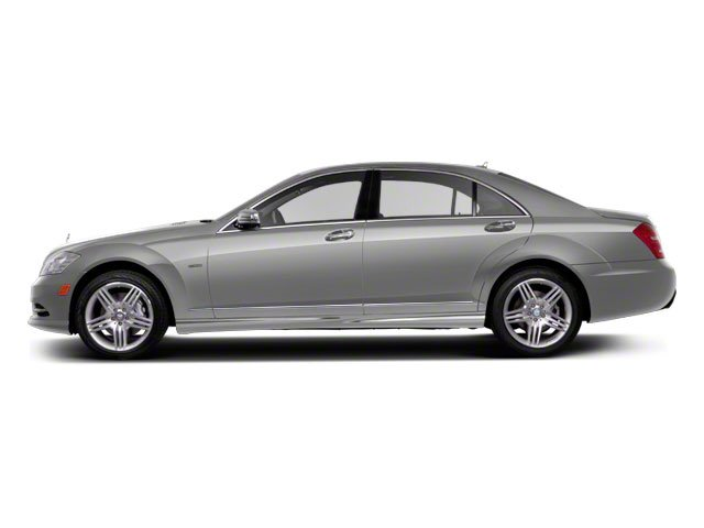 Iridium Silver Metallic 2013 Mercedes-Benz S-Class Pictures S-Class Sedan 4D S400 Hybrid photos side view