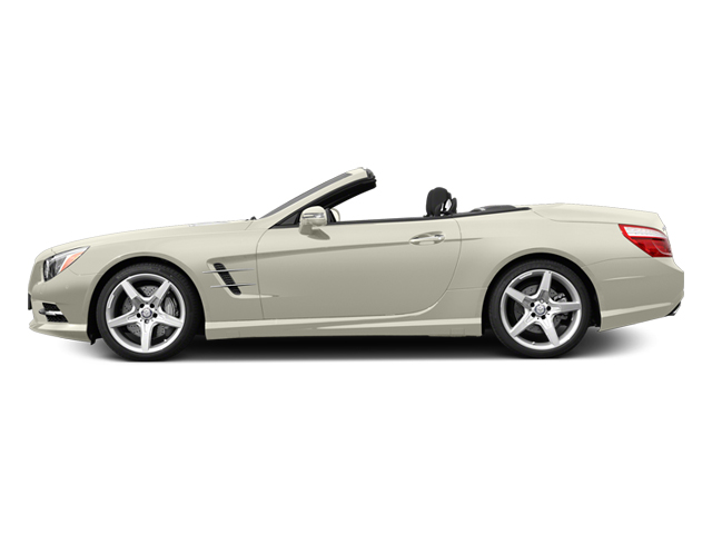 Diamond White Metallic 2013 Mercedes-Benz SL-Class Pictures SL-Class Roadster 2D SL550 photos side view