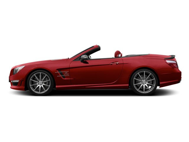 Mars Red 2013 Mercedes-Benz SL-Class Pictures SL-Class Roadster 2D SL63 AMG photos side view