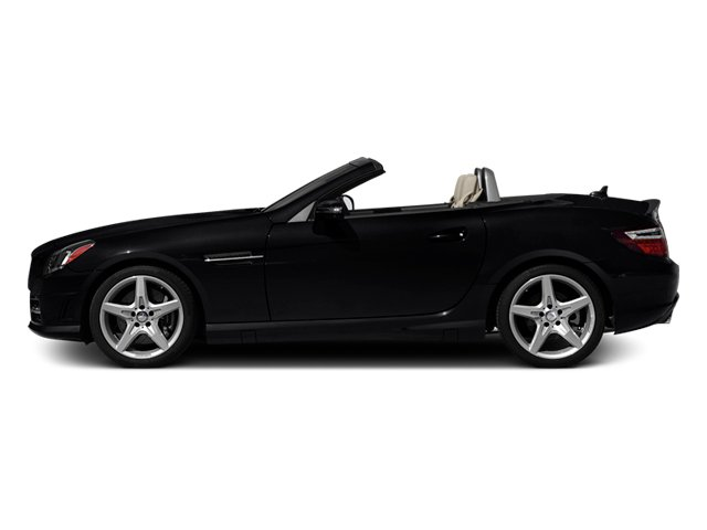 Black 2013 Mercedes-Benz SLK-Class Pictures SLK-Class Roadster 2D SLK350 photos side view