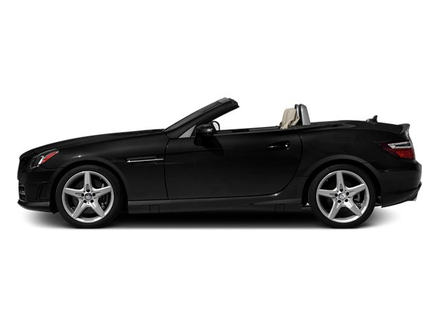 Obsidian Black Metallic 2013 Mercedes-Benz SLK-Class Pictures SLK-Class Roadster 2D SLK350 photos side view