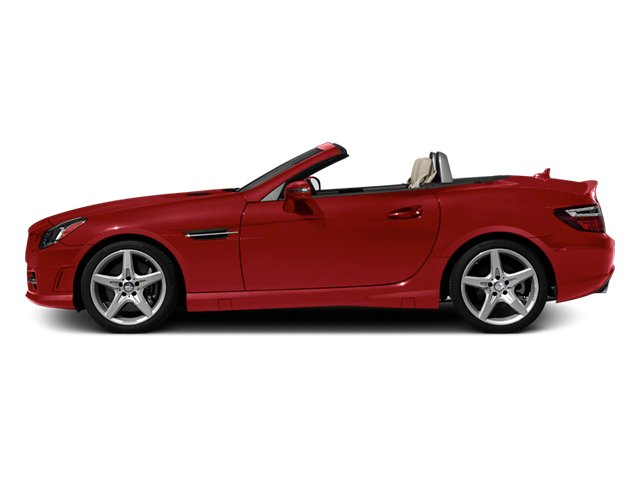 Mars Red 2013 Mercedes-Benz SLK-Class Pictures SLK-Class Roadster 2D SLK55 AMG photos side view