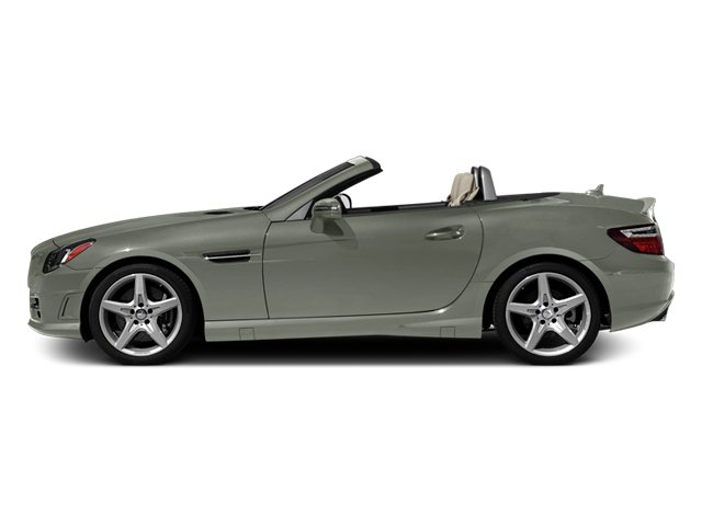 Palladium Silver Metallic 2013 Mercedes-Benz SLK-Class Pictures SLK-Class Roadster 2D SLK350 photos side view
