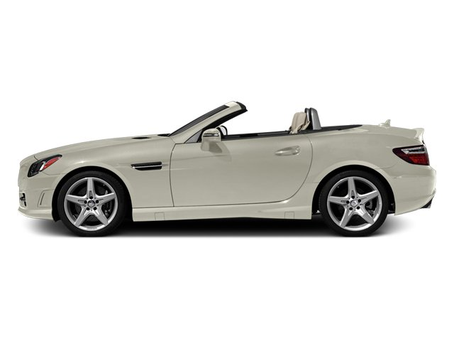 Diamond White Metallic 2013 Mercedes-Benz SLK-Class Pictures SLK-Class Roadster 2D SLK350 photos side view