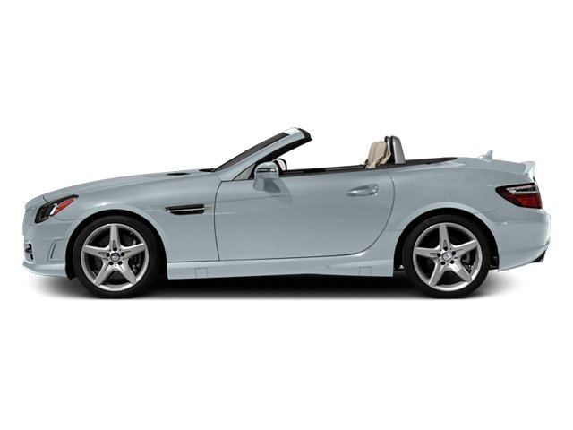 Silver Mist Metallic 2013 Mercedes-Benz SLK-Class Pictures SLK-Class Roadster 2D SLK350 photos side view