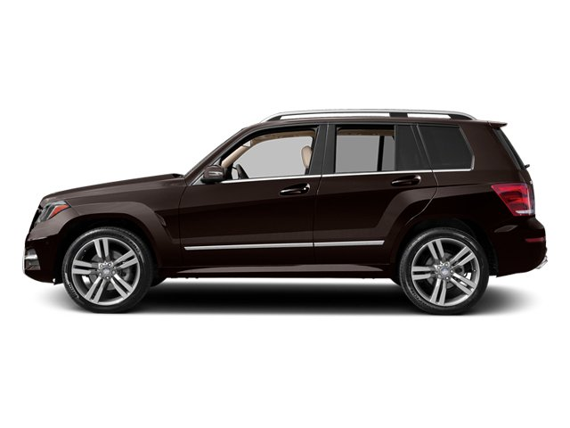Cuprite Brown Metallic 2013 Mercedes-Benz GLK-Class Pictures GLK-Class Utility 4D GLK350 AWD photos side view