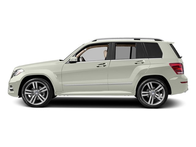 Iridium Silver Metallic 2013 Mercedes-Benz GLK-Class Pictures GLK-Class Utility 4D GLK350 AWD photos side view