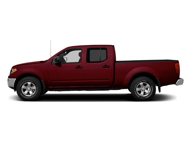 Cayenne Red 2013 Nissan Frontier Pictures Frontier Crew Cab S 4WD photos side view