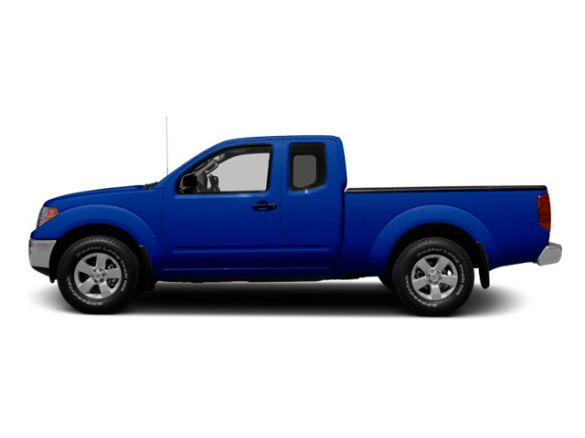 Metallic Blue 2013 Nissan Frontier Pictures Frontier King Cab SV 2WD photos side view
