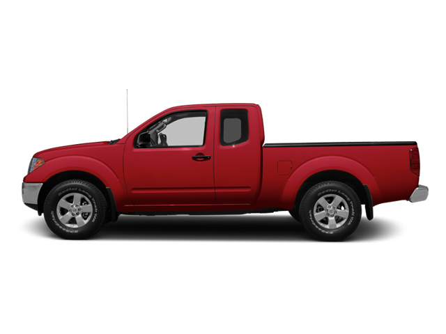 Lava Red 2013 Nissan Frontier Pictures Frontier King Cab SV 2WD photos side view