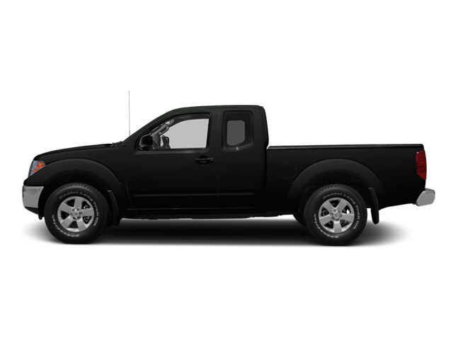 Super Black 2013 Nissan Frontier Pictures Frontier King Cab SV 2WD photos side view