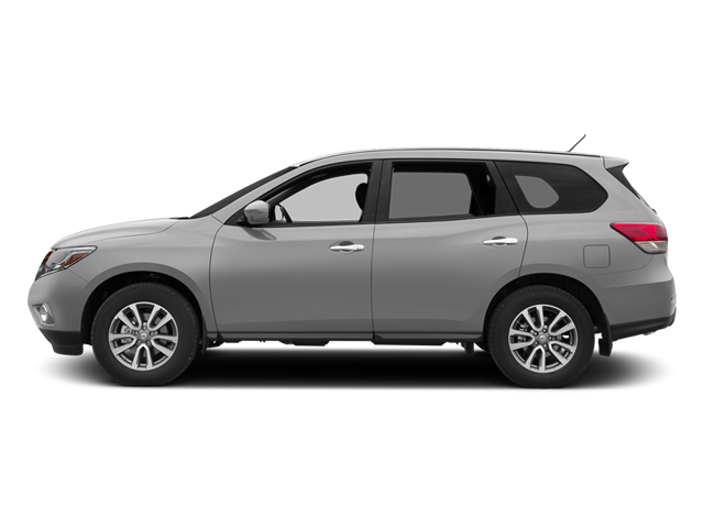 Brilliant Silver 2013 Nissan Pathfinder Pictures Pathfinder Utility 4D SL 2WD photos side view