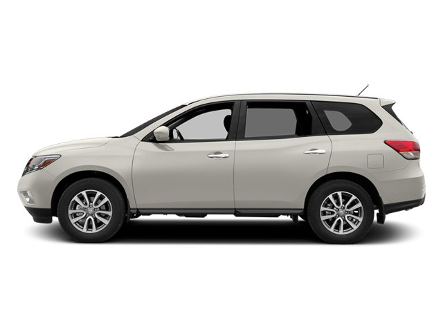Moonlight White 2013 Nissan Pathfinder Pictures Pathfinder Utility 4D SL 2WD photos side view