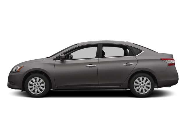 Amethyst Gray 2013 Nissan Sentra Pictures Sentra Sedan 4D S I4 photos side view