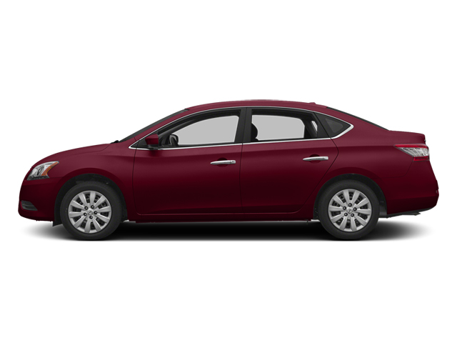 Red Brick 2013 Nissan Sentra Pictures Sentra Sedan 4D S I4 photos side view