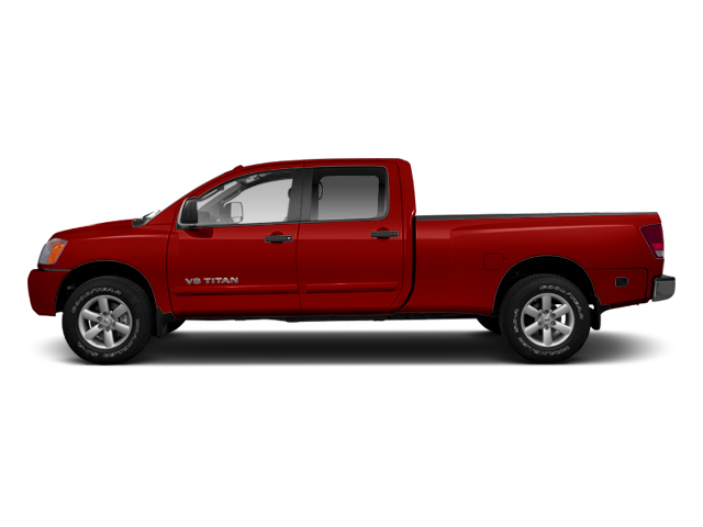 Cayenne Red 2013 Nissan Titan Pictures Titan Crew Cab S 2WD photos side view