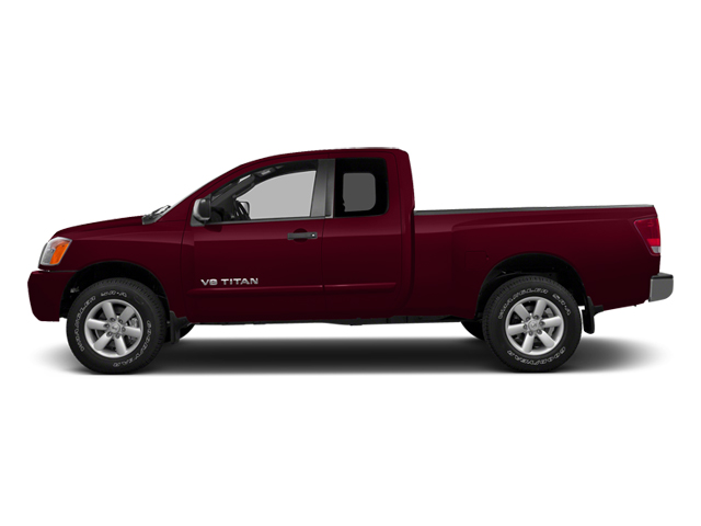 Cayenne Red 2013 Nissan Titan Pictures Titan King Cab SV 2WD photos side view