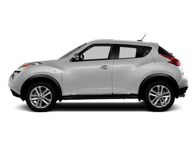 Brilliant Silver 2013 Nissan JUKE Pictures JUKE Utlity 4D SL 2WD I4 Turbo photos side view