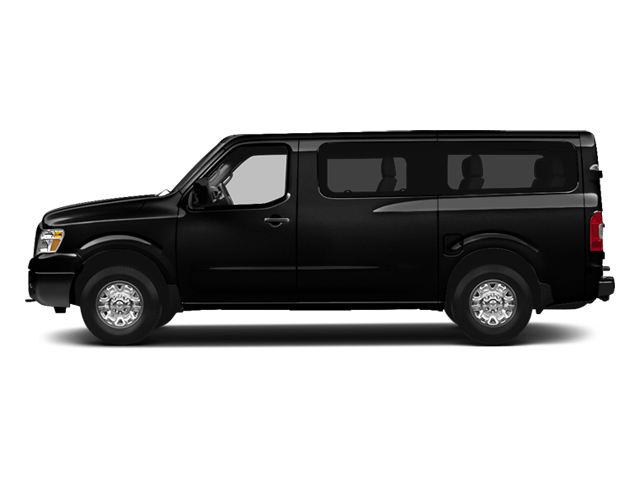 Super Black 2013 Nissan NVP Pictures NVP Passenger Van SV photos side view