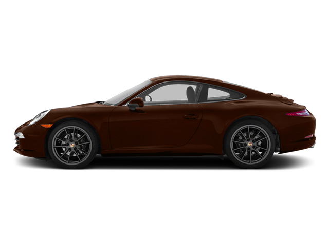 Mahogany Metallic 2013 Porsche 911 Pictures 911 Coupe 2D H6 photos side view