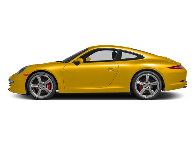 Racing Yellow 2013 Porsche 911 Pictures 911 Coupe 2D S H6 photos side view