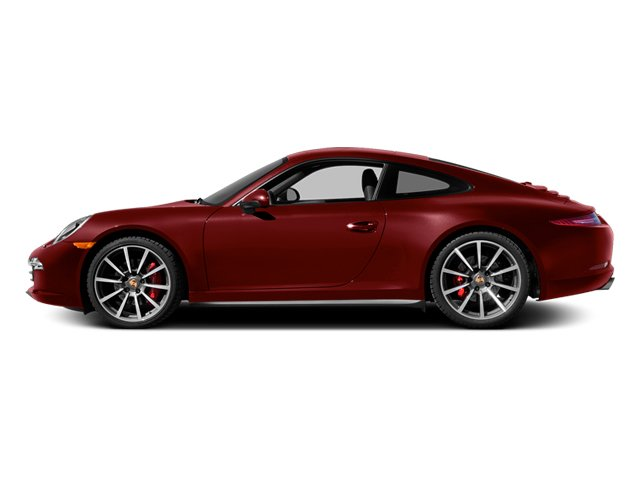 Ruby Red Metallic 2013 Porsche 911 Pictures 911 Coupe 2D 4 AWD H6 photos side view