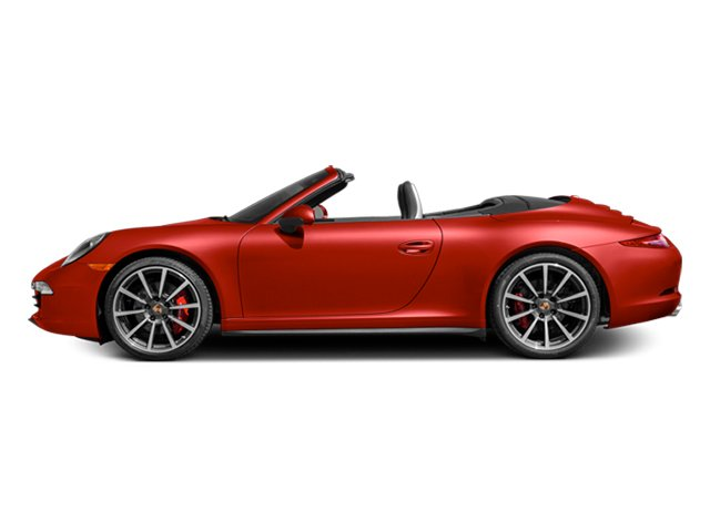 Guards Red 2013 Porsche 911 Pictures 911 Cabriolet 2D 4S AWD H6 photos side view