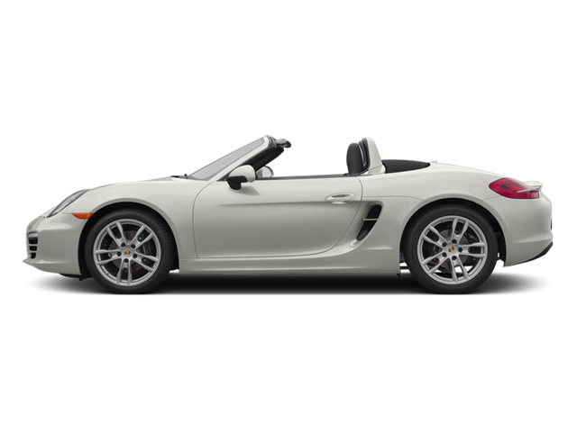 White 2013 Porsche Boxster Pictures Boxster Roadster 2D photos side view